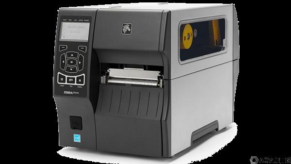 ZEBRA ZT410, 203dpi, RTC, Displ., EPL, ZPL, ZPLII, USB, RS232, BT, Ethernet, WLAN | ZT41042-T0EC000Z