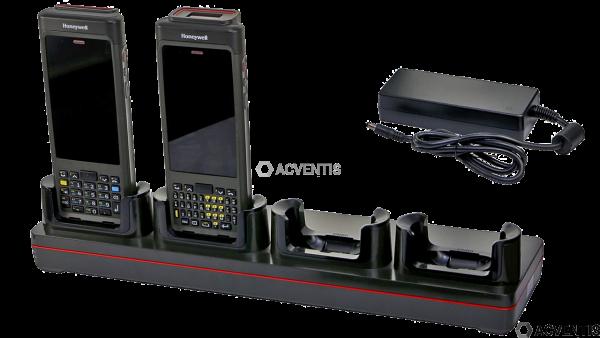 HONEYWELL Lade-/Übertragungsstation für CN80, 4-Fach, Ethernet, Kit | CN80-NB-CNV-0