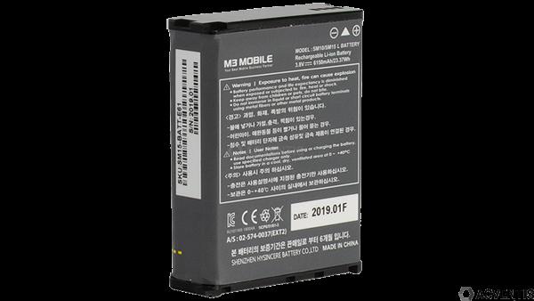 M3 MOBILE Akku für SM15, Extended, 6150mAh | SM15-BATT-E61