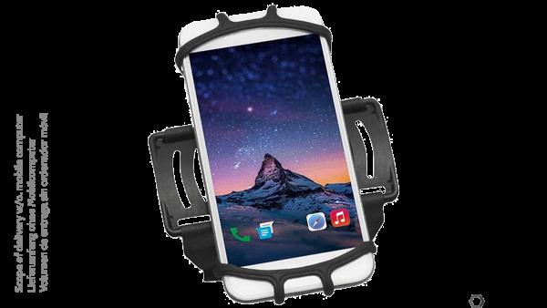 MOBILIS Universal Armhalterung für Smartphones und MDE (5-7 Zoll) | 030004