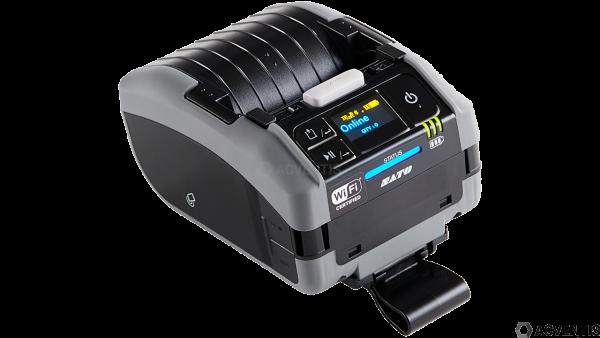 SATO PW208NX, 2'', 203dpi, USB, BT, WLAN, Linerless, NFC, AEP | WWPW2308G