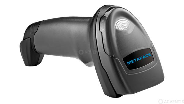 METAPACE Handscanner MP-28, 2D, Multi-IF, Kit (USB), schwarz | META-BKCU-KIT