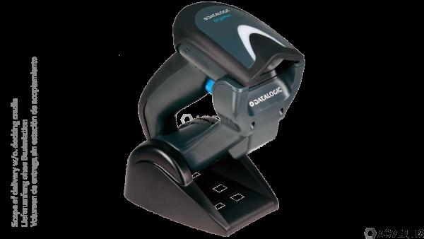 DATALOGIC Gryphon I GBT4132, BT, 1D, Multi-IF, Kit (RS232), schwarz | GBT4132-BK-BTK2