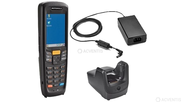 ZEBRA MC2180, 1D, 256MB RAM, USB, BT, WLAN, Num., Kit (USB) | K-MC2180-CS12E-CD2