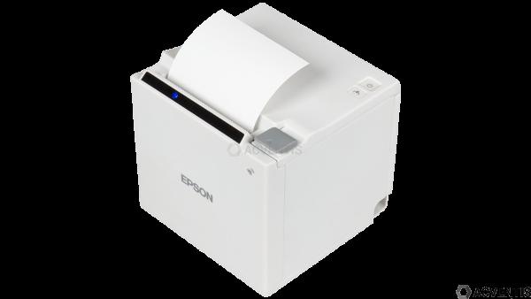 EPSON TM-m30, USB, BT, Ethernet, 8 Punkte/mm (203dpi), ePOS, weiß | C31CE95111
