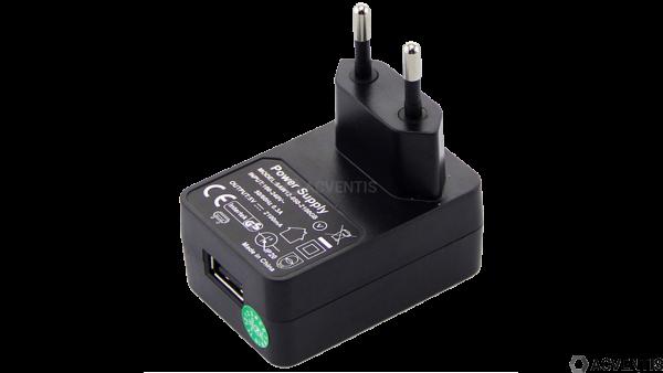 ZEBRA 5V 12W Netzteil, USB, EU | PWR-WUA5V12W0EU