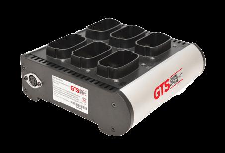 GTS 6-fach-Akkuladegerät für Motorola / Zebra MC90xx-G&K Serie / MC9190-G / MC92N0