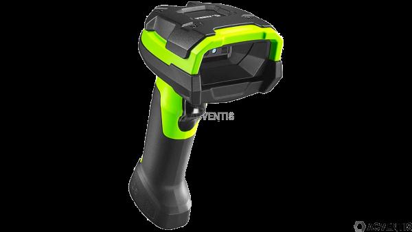 ZEBRA LI3608-ER, 1D, ER, Multi-IF, Kit (USB), schwarz / grün | LI3608-ER3U4600ZVW