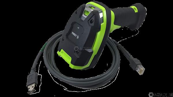 ZEBRA Handscanner DS3608-SR, 2D, SR, Multi-IF, Kit (USB), schwarz, grün | DS3608-SR3U4600VZW