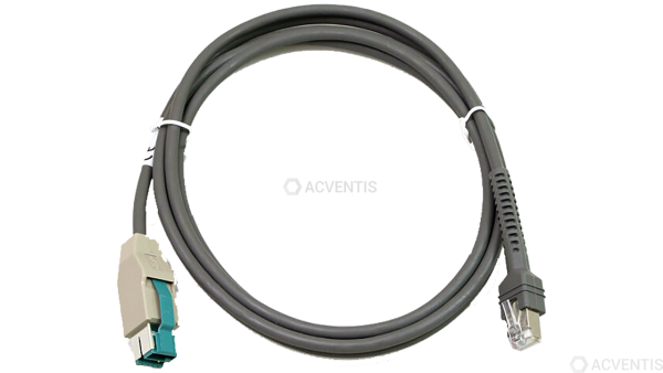 ZEBRA Verbindungskabel, powered USB, Rev. B, 2,1m | CBA-U23-S07ZBR