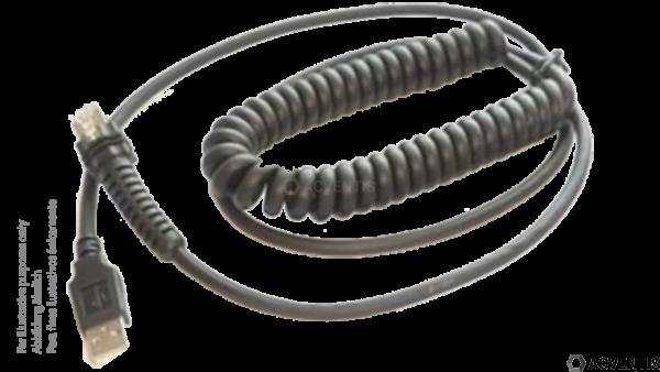 DATALOGIC USB Kabel, 5m, gedreht | 90A051953