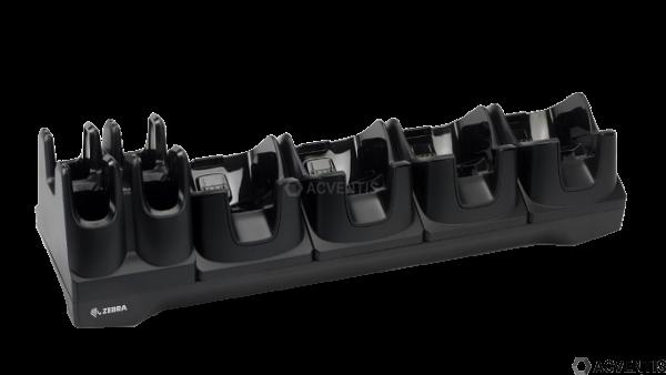 ZEBRA Lade-/Übertragungsstation für TC8000 / TC8300, 4-Fach, Ethernet | CRD-TC8X-5SE4BC-01