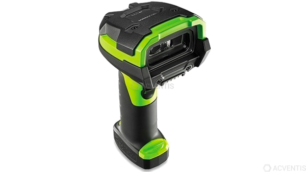 ZEBRA Handscanner LI3608-ER, 1D, ER, Multi-IF, schwarz, grün | LI3608-ER20003VZWW
