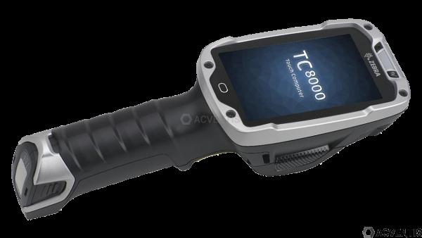 ZEBRA TC8000 Standard, 2D, SR, BT, WLAN, Disp., hot-swap, Android | TC80N0-1000K210IN