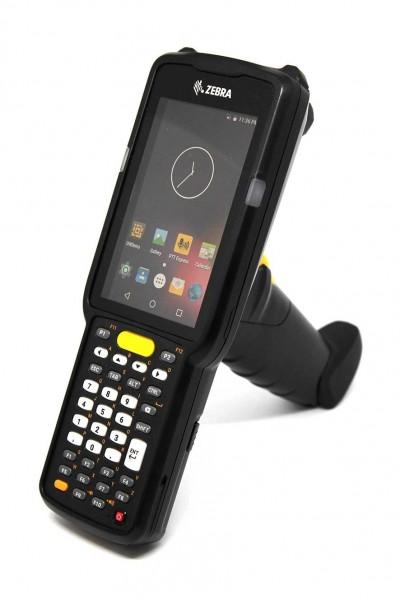 ZEBRA MC3300 Premium, 1D, USB, BT, WLAN, NFC, Func. Num., ESD, Gun, PTT, Android | MC330K-GL3HA3RW