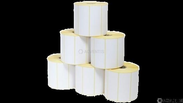 AEONTIS Xperform80 Etikettenrolle, Thermopapier, 76x25mm, 1151 Etiketten/Rolle | AEO-NTL90FSC76