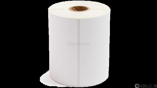 Etikettenrolle, Thermopapier, 18 Stück, 76x25mm | NTL90FSC76X25