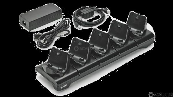 ZEBRA Ladestation/Cradle für ZQ300-Serie, 5-Fach | CRD-MPM-5SCHGEU1-01