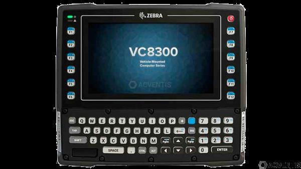 ZEBRA VC8300, USB, RS232, BT, WLAN, QWERTY, Android | VC83-08SOCQBAABA-I