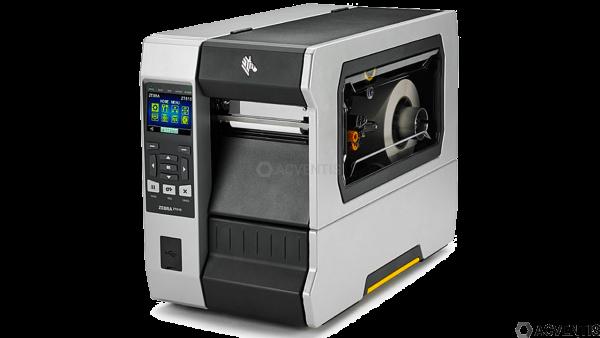 ZEBRA ZT610, 12 Punkte/mm (300dpi), Disp., RTC, ZPL, ZPLII, USB, RS-232, BT, Ethernet, WLAN | ZT6104