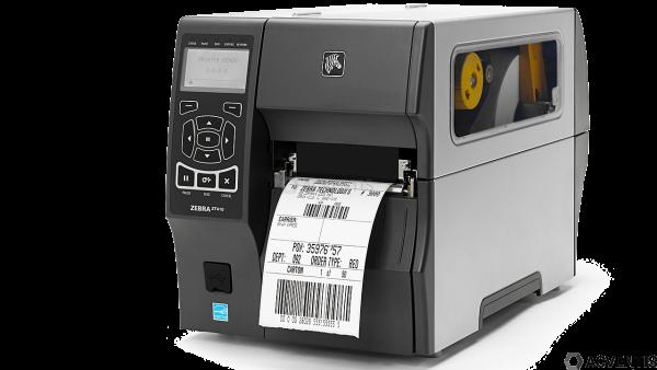ZEBRA ZT410, 203dpi, Farb-Disp., RTC, EPL, ZPL, ZPLII, USB, RS232, BT, Ethernet | ZT410A2-T0E0000Z