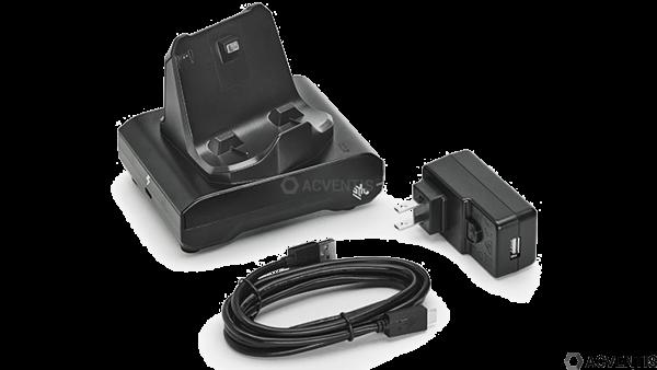 ZEBRA Lade-/Übertragungsstation für ZQ300-Serie | CRD-MPM-1SCHGEU1-01