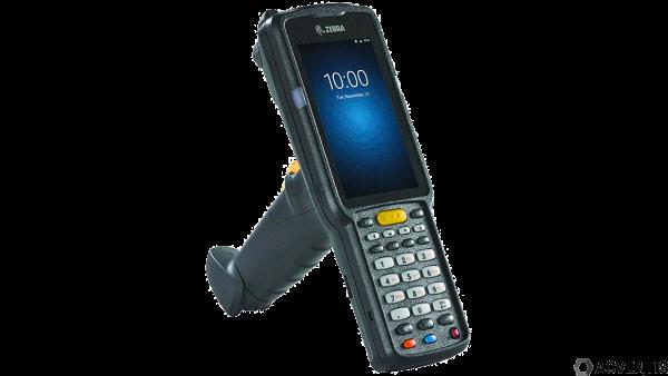 ZEBRA MC3300 Standard, 2D, SR, USB, BT, WLAN, Func. Num., Gun, PTT, Android | MC330M-GI3HA2RW