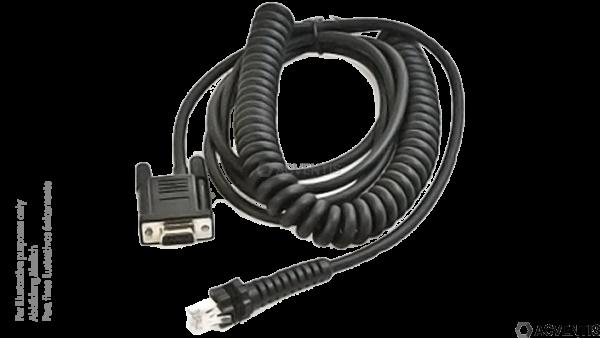 DATALOGIC Verbindungskabel, RS232, 1.8m (AUX auf RJXX) | 90G001092