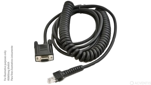DATALOGIC RS232 Kabel 9P weibl., gedreht, 3.6m | CAB-459