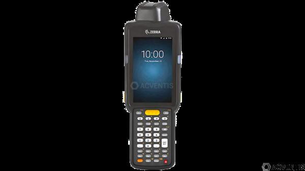 ZEBRA MC3300 Standard, 1D, USB, BT, WLAN, Func. Num., PTT, GMS, Android   MC330M-RL3HG2RW