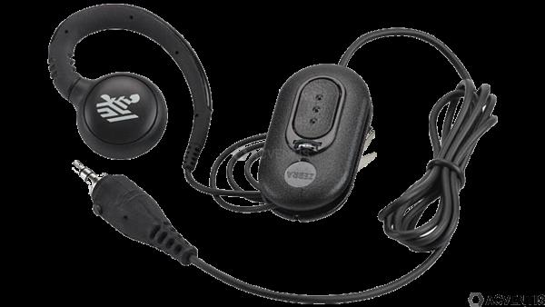 ZEBRA Headset für PTT / VOIP, 3,5mm Audio | HDST-35MM-PTVP-01