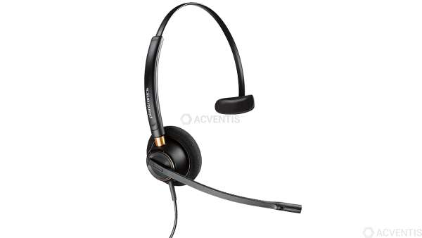 POLY Plantronics EncorePro HW510, Monaural, On-Ear, QD |89433-02