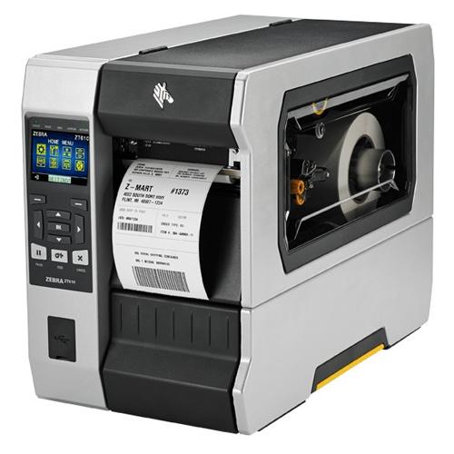 ZEBRA ZT610, 300dpi, Disp., RFID, ZPL, ZPLII, USB, RS232, BT, Ethernet | ZT61043-T0E01C0Z