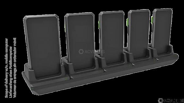 KOAMTAC Ladestation für SKXPro (Samsung XCover Pro), 5-Fach   896351
