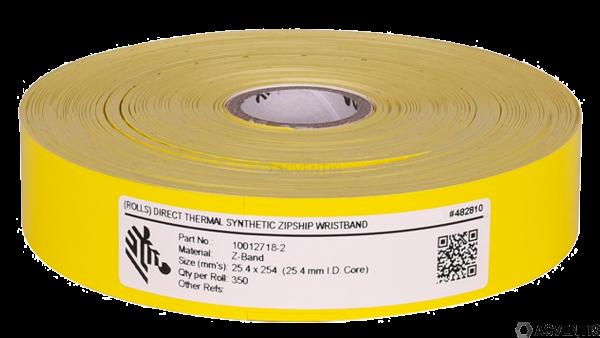 ZEBRA Z-Band Splash, gelb, 4 Rollen | 10012718-2