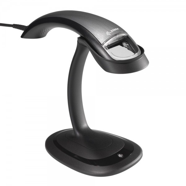 ZEBRA DS4801, 2D, SR, Kit (USB), schwarz, incl. Standfuß | DS4801-SR4U0000SGE