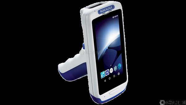 DATALOGIC Joya Touch A6, 2D, USB, BT, WLAN, NFC, Gun, blau, grau, Android | 911350036