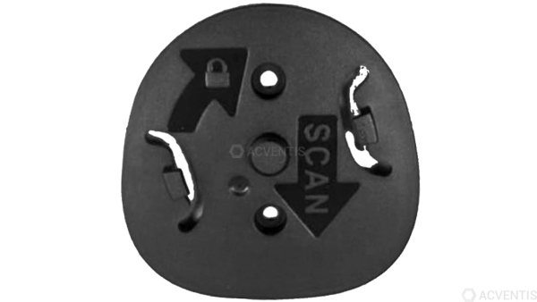 ZEBRA Locking Mount für DS9300, schwarz | BRKT-LM0093C-04