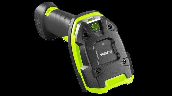 ZEBRA Handscanner LI3678-SR, BT, 1D, SR, Multi-IF, Kit (USB), schwarz, grün   LI3678-SR3U4210S