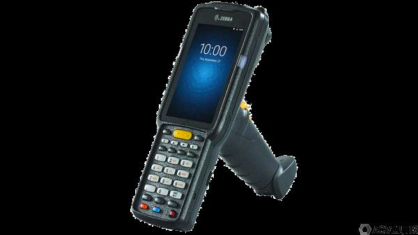 ZEBRA MC3300 Standard, 1D, USB, BT, WLAN, Num., Gun, PTT, Android | MC330M-GL2HA2RW