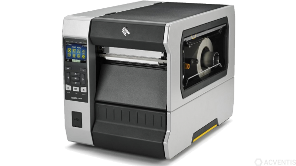 ZEBRA ZT620, 8 Punkte/mm (203dpi), Cutter, Disp. (Farbe), RTC, ZPL, ZPLII, USB, RS-232, BT, Ethernet