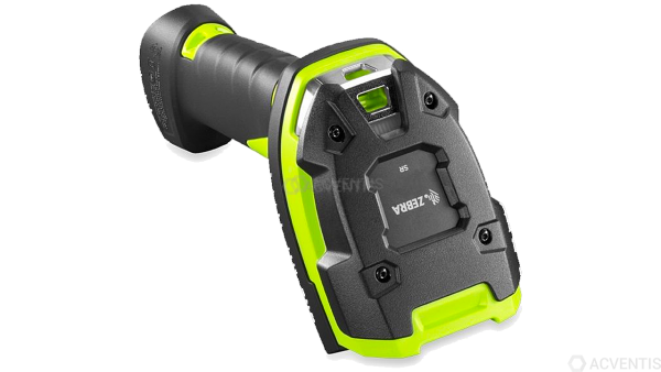 ZEBRA Handscanner LI3678-SR, BT, 1D, SR, Multi-IF, FIPS, schwarz, grün   LI3678-SR0F003VZWW