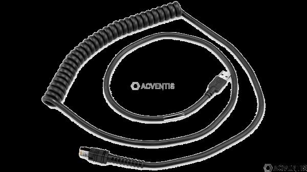 ZEBRA Verbindungskabel, USB, Freezer, Länge: 3,6m | CBA-UF6-C12ZAR