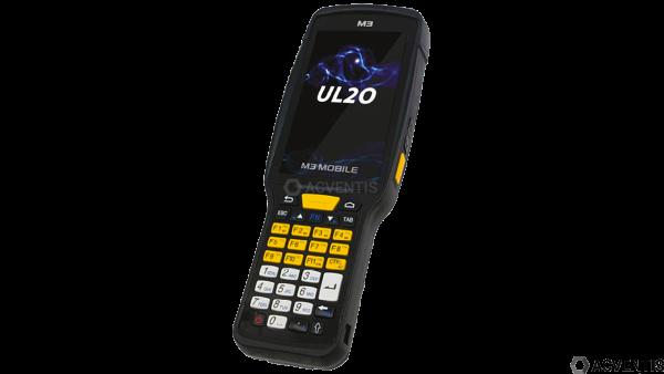 M3 MOBILE UL20X, 2D, LR, SE4850, BT, WLAN, 4G, NFC, Func. Num., GPS, GMS, Android | U20X4C-PLCFSS-HF