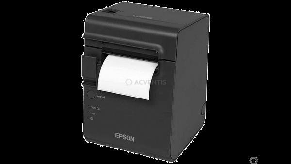 EPSON TM-L90LF, 8 Punkte/mm (203dpi), linerless, USB, Ethernet, schwarz | C31C412681