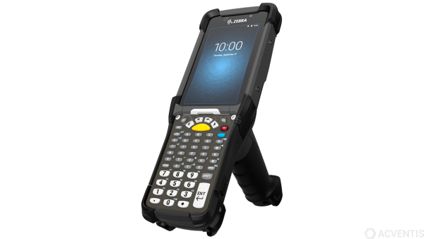 ZEBRA MC9300, 1D, SR, BT, WLAN, Func. Num., Gun, IST, Android | MC930B-GSABG4RW