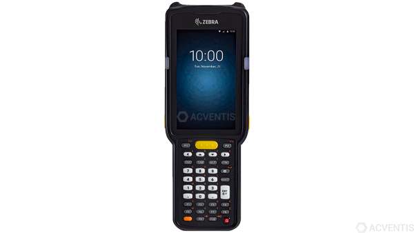 ZEBRA MC3300 Premium+, 1D, BT, WLAN, NFC, Func. Num., IST, PTT, GMS, Android | MC330K-RC3HG4RW