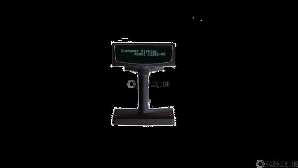 CITIZEN Kundendisplay C2202-PD, Kit (RS232), schwarz, RS232 | C2202PDEBK