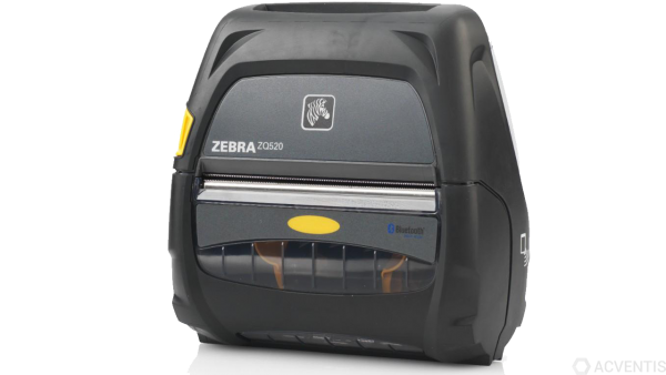 ZEBRA ZQ520, 4'', 8 Punkte/mm (203dpi), Display, ZPL, CPCL, USB, BT, WLAN, NFC | ZQ52-AUN010E-00