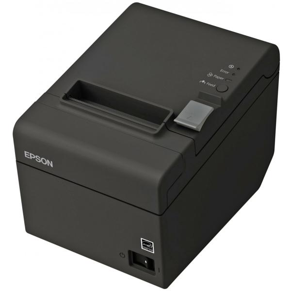 EPSON TM-T20II, USB, RS232, 8 Punkte/mm (203dpi), Cutter, schwarz | C31CD52002